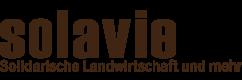 Solavie Logo mit Text unten